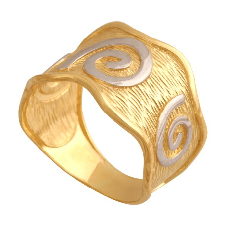 Pierścionek złoty R451